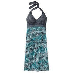 Athleta Meteor Paisley Halter Dress